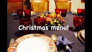il mio MENU di NATALE - my CHRISTMAS MENU