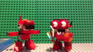 LEGO Mixels: Only You Can Prevent Forest Freezes, Only You! (stopmotion)