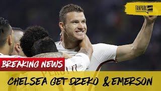 Chelsea Sign Dzeko & Emerson, Arsenal Face Man City In Carabao Cup Final & Sanchez Admits Mistake!