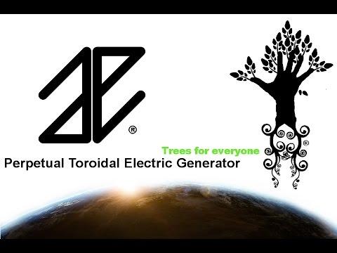 Perpetual Toroidal Electric Generator