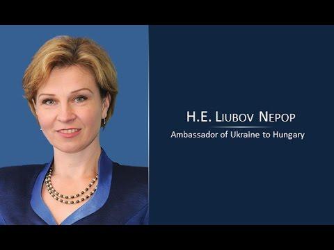 Liubov Nepop at SESCO Budapest 2016 conference