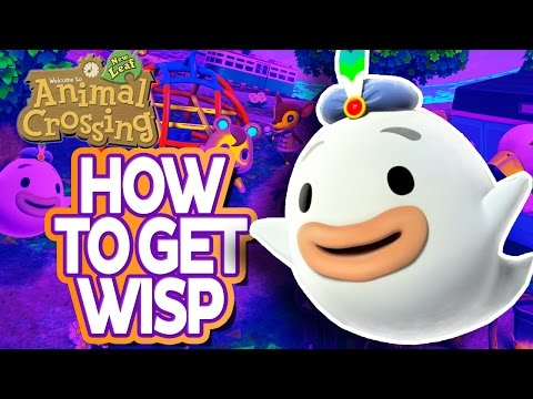 Animal Crossing New Leaf How To Find Wisp Get Wisps Lamp In Acnl