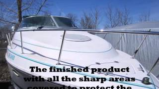 Custom Made Boat cover frame