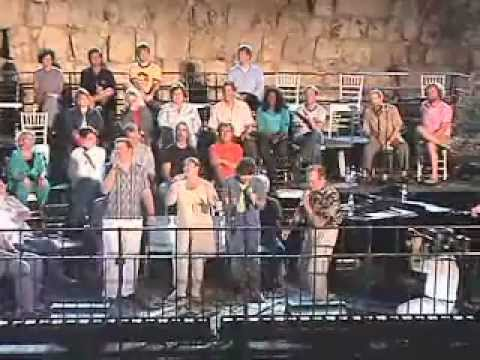 The Hoppers Jerusalem Rehearsal