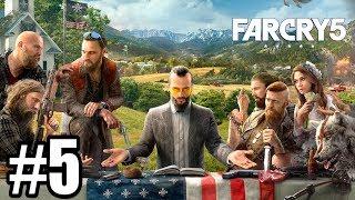 WAGONOWNIA! ŻE CO?! - Let's Play Far Cry 5 #5 [PS4]