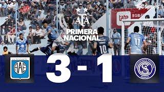 Estudiantes (RC) 3  VS. Independiente Rivadavia 1 | Fecha 3 | Primera Nacional 2019/2020