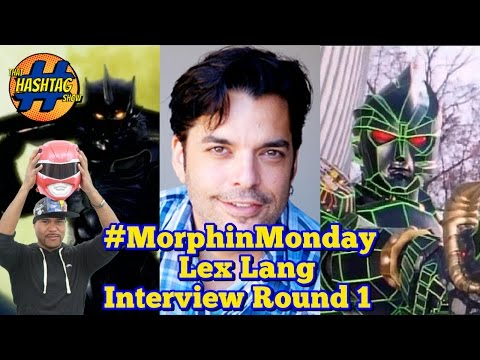 Lex Lang ( Elcliptor Voice Actor) Interview | Power Rangers In Space | Morphin Monday