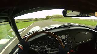 Cobra onboard at Goodwood 2020