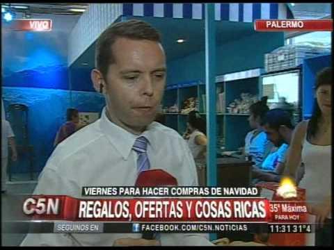 C5N   CONSUMO REGALOS, OFERTAS Y COSAS RICAS PARA NAVIDAD