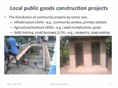 Community Driven Development in Sierra Leone