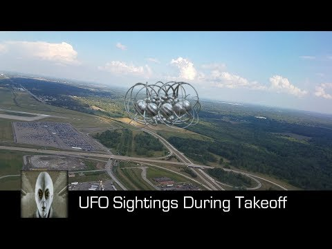 UFO Sightings During Takeoff October 8th 2017