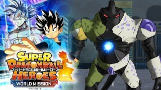 WHAT IN THE WORLD IS AHMS SUPPOSED TO BE!!! Super Dragon Ball Heroes World Mission Gameplay!