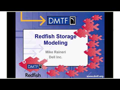 Redfish® School – Storage Modeling