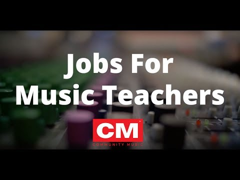 Jobs For Music Teachers