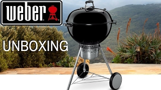 Weber Master Touch 22 UNBOXING  La Capital