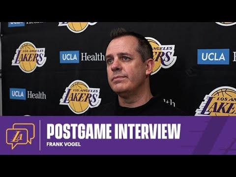 Lakers Postgame: Frank Vogel (5/12/21)
