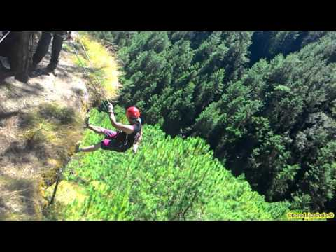 Cliff Rappelling at Mount Kabuyao by Paul - 20151108
