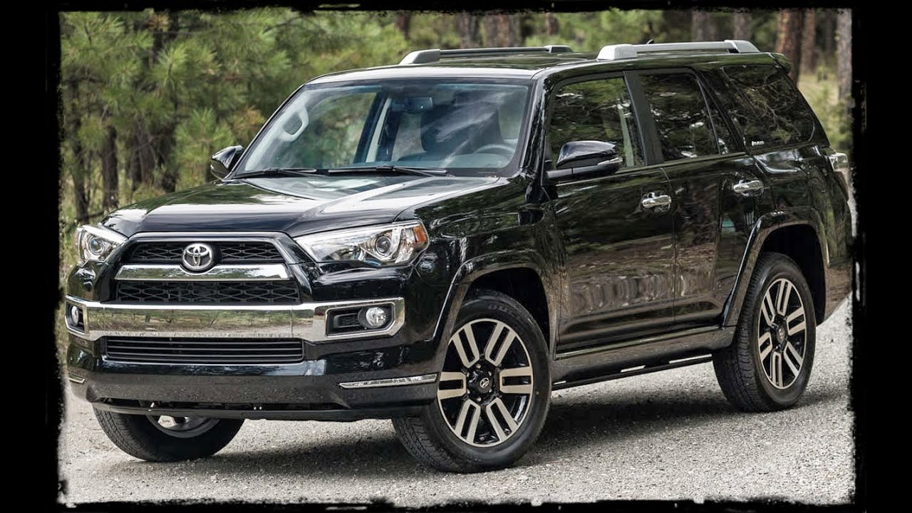 2016 Toyota 4Runner Limited 5 passenger 4WD in Midnight Black 0218 Walk-Around and Review - YouTube