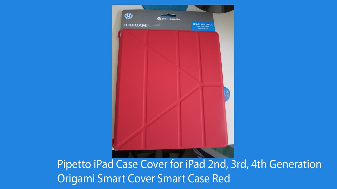 Pipetto Ipad Case Cover For 4th Generation Red Youtube
