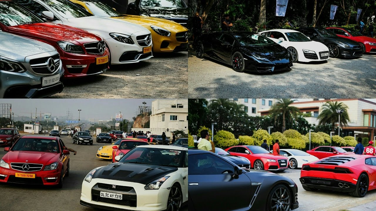 Cannonball Club Supercar Drive India Hyderabad Youtube