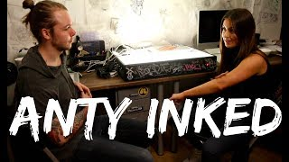 Anty Inked | Ep 1 | Träffar min tatuerare för första gången!
