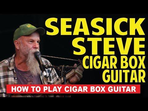 Seasick Steve 3string secrets   Check info for updated Seasick lessons!!!  cigar box guitar