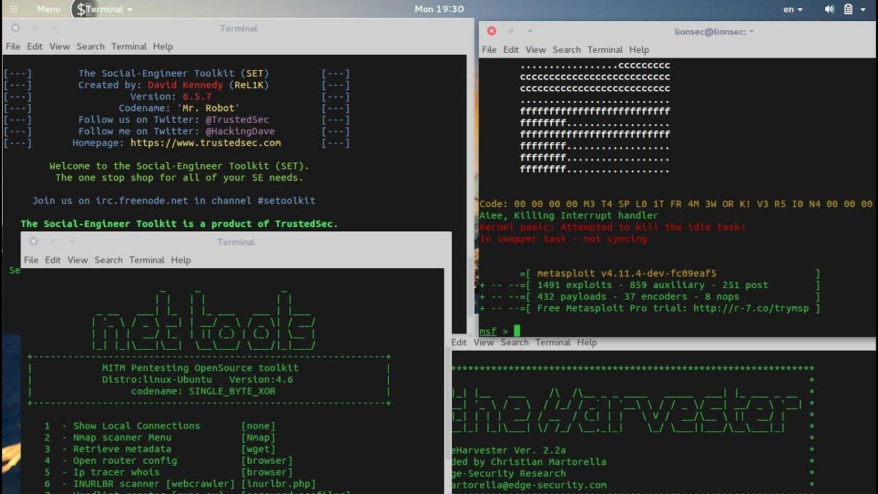 LionSec Linux 5 0 - Penetration Testing Operating system based on Ubuntu