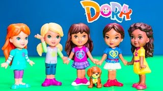 Unboxing the Dora and Friends Doggie Day Adventure Toys