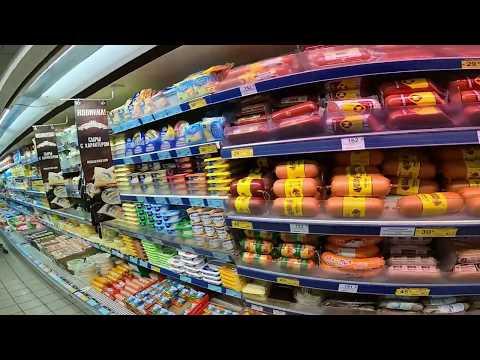 Цены на продукты в ЯЛТЕ 2020, Магазин ПУД, НОВЫЙ ГОД 2020, 30 декабря, новогодние цены на продукты