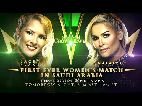 In The Zone - WWE Announces First Ever Women's Match for Saudi Arabia's Crown Jewel PPV