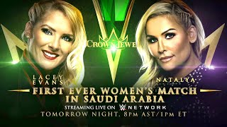 Natalya to make history against Lacey Evans in Saudi Arabia: Crown Jewel media event, Oct. 30, 2019