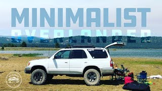 Our Minimalist Overlander: 1999 Toyota 4Runner (slightly modified)