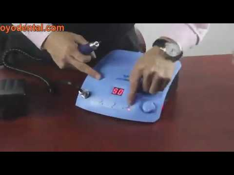 How to Operate Dental Micro Motor