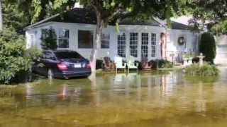 Lunar High Tides Cause Flooding in South Florida