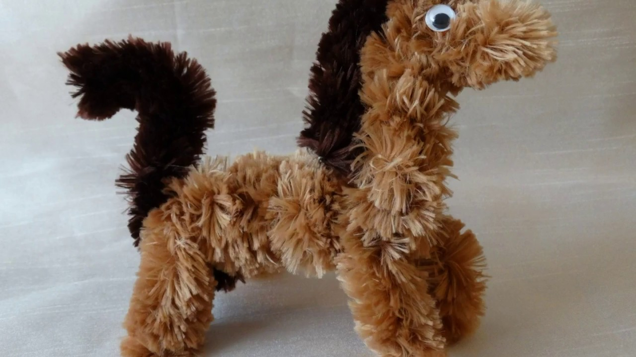 Pipe cleaner animal-How to make a horse using jumbo pipe clenaner.Video tutorial & Pipe cleaner animal-How to make a horse using jumbo pipe clenaner ...