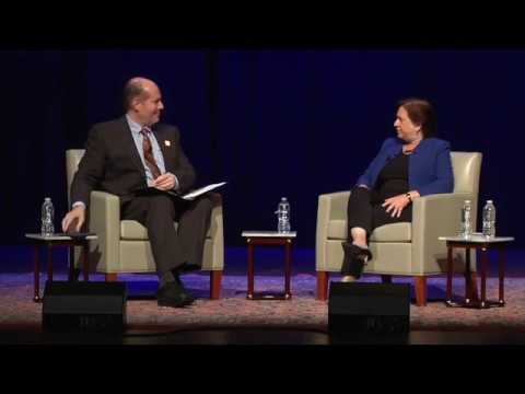 A Conversation with U S  Supreme Court Justice Elena Kagan