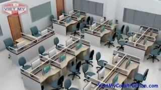 Bàn Ghế Văn Phòng, Bàn Ghế Formica Văn Phòng Thumbnail