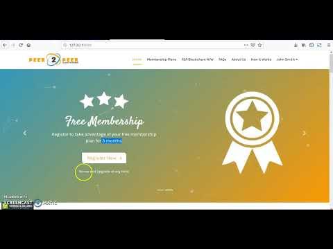 P2P Blockchain unleashed Demo #1