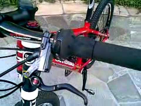 d864db639c1 Cannondale caffeine F2 small lefty red Tunning - YouTube