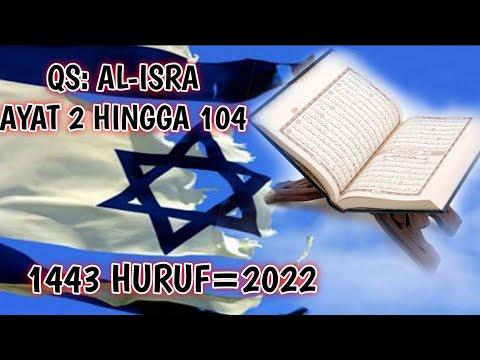 BENARKAH ISRAEL PUNAH DI TAHUN 2022 ??KABAR AL-QUR AN ATAU SEKEDAR ANGKA KEBETULAN