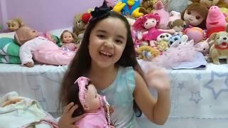 Conheça minha bebê Reborn Giulia
