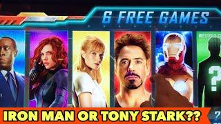 ⭐️NEW IRON MAN SLOT⭐️ TONY STARK OR IRON?? $3 BET Bonus Games and More other Slots