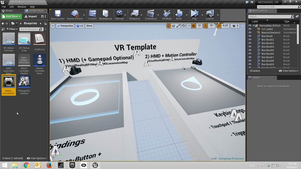 UE4: Setting up the Game Mode