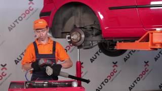 Vyměna Axiální kloub příčné táhlo řízení VW TOURAN 2019 - video návody