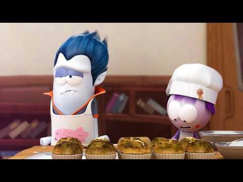 Spookiz - Cula the Baker | Funny Cartoons for Kids | Cartoons for Children