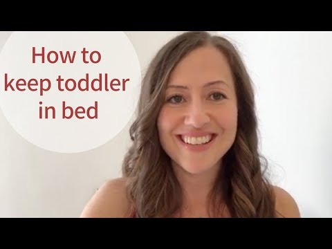 How To Keep Your Toddler in Bed ALL Night: Sleep Training Method