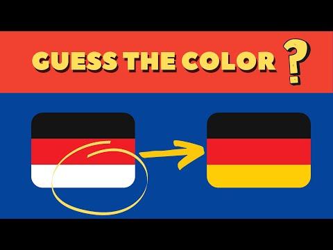 DOJO IQ GUESS THE COLOR OF FLAG | CHALLENGE PART 1 | 90% FAILS