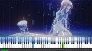 【FULL】Nagi no Asukara [凪のあすから] ED 1 - Aqua Terrarium [アクアテラリウム ](Piano Synthesia Tutorial + Sheet)