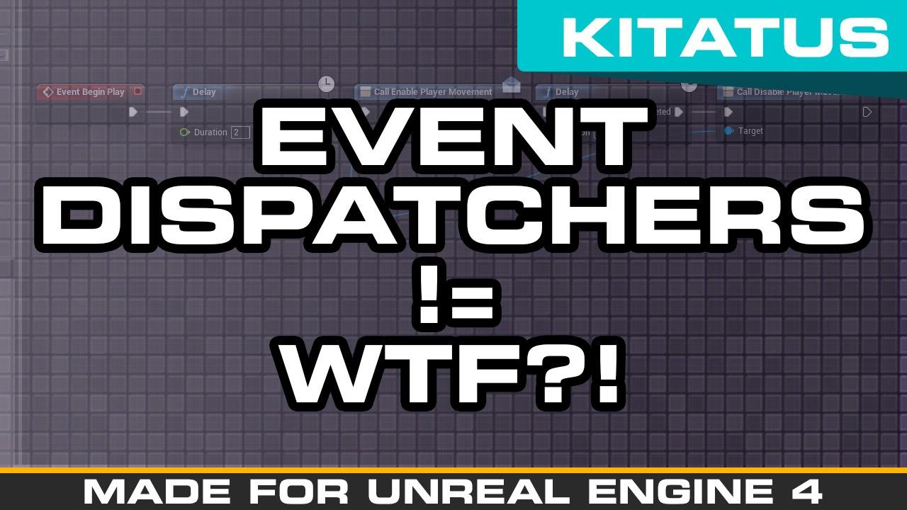 Unreal engine 4 blueprints event dispatchers youtube unreal engine 4 blueprints event dispatchers malvernweather Gallery
