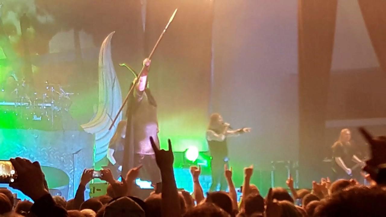 Amon Amarth Erfurt Thüringenhalle 24.3.2017 - YouTube